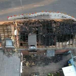 Hausbrand vorher 1